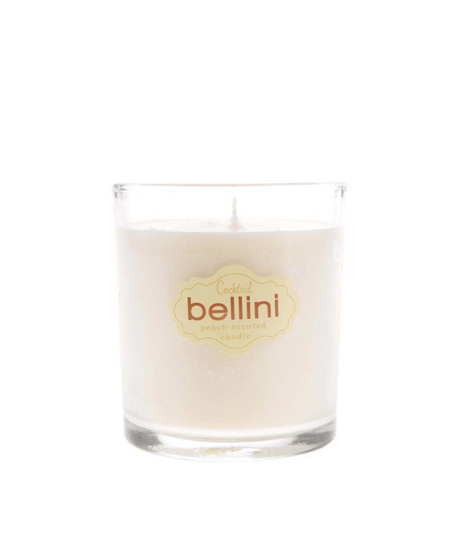 Oranžová vonná svíčka Gift Republic Bellini