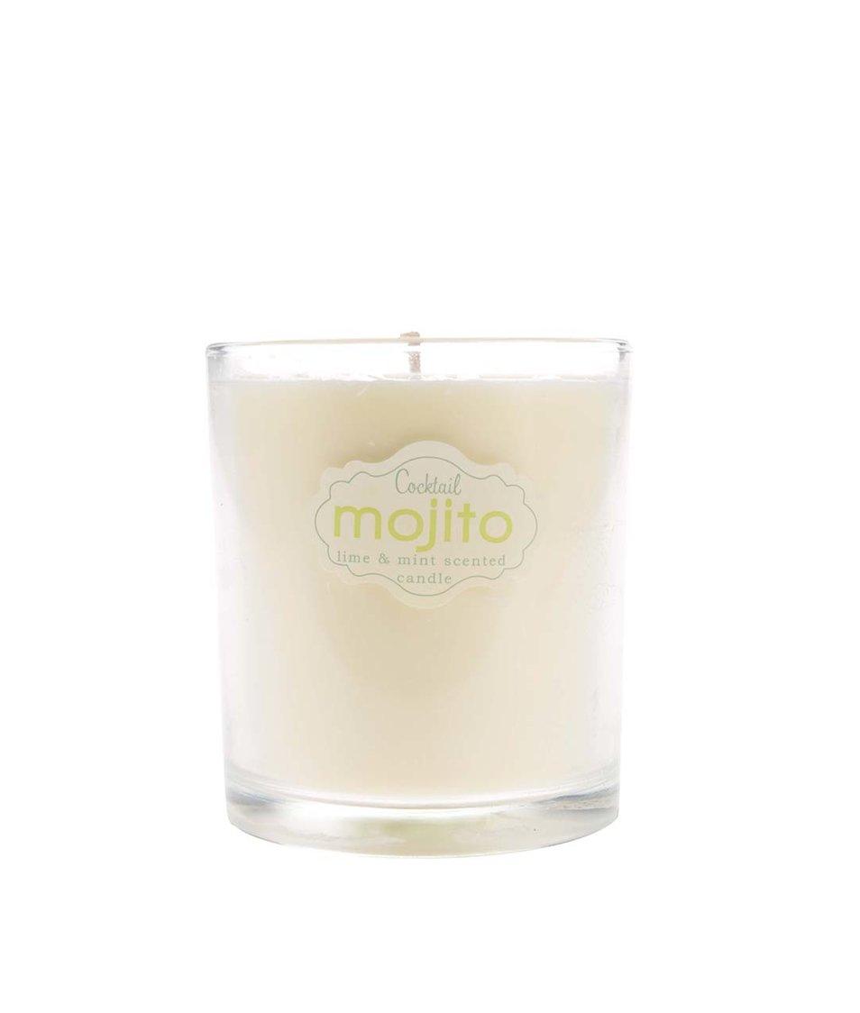 Světle zelená vonná svíčka Gift Republic Mojito