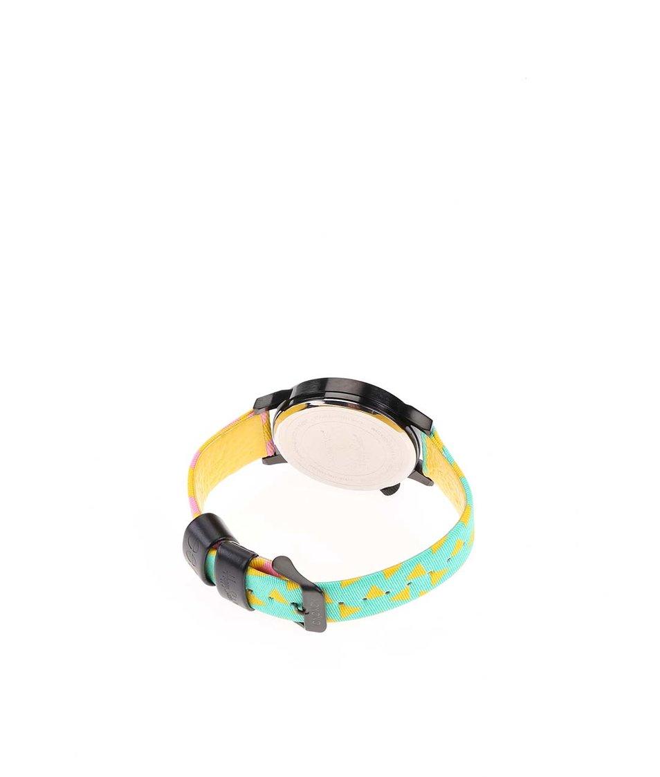 Barevné hodinky s větším holografickým ciferníkem Komono Winston Pop