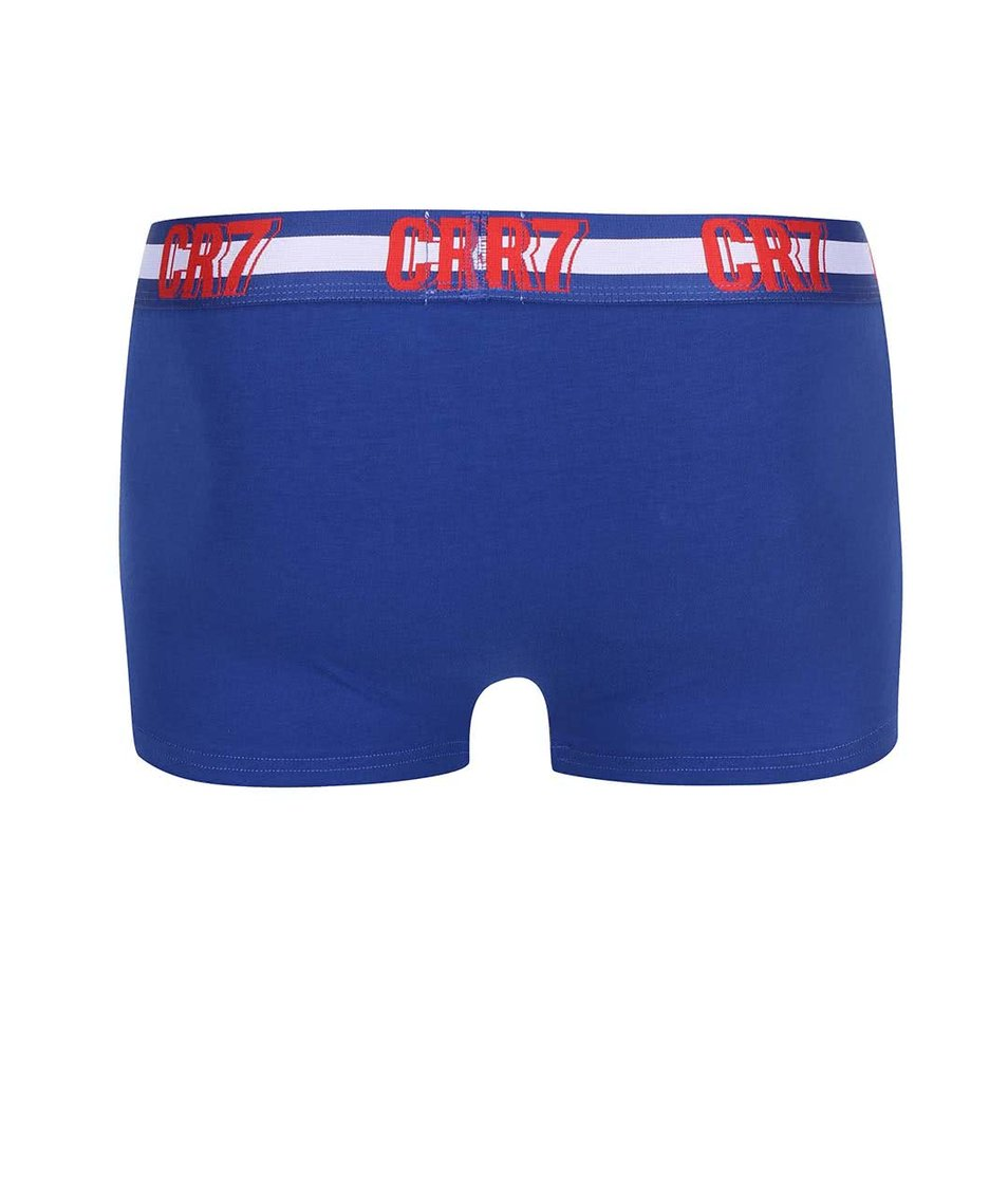 Sada červených a modrých boxerek CR7