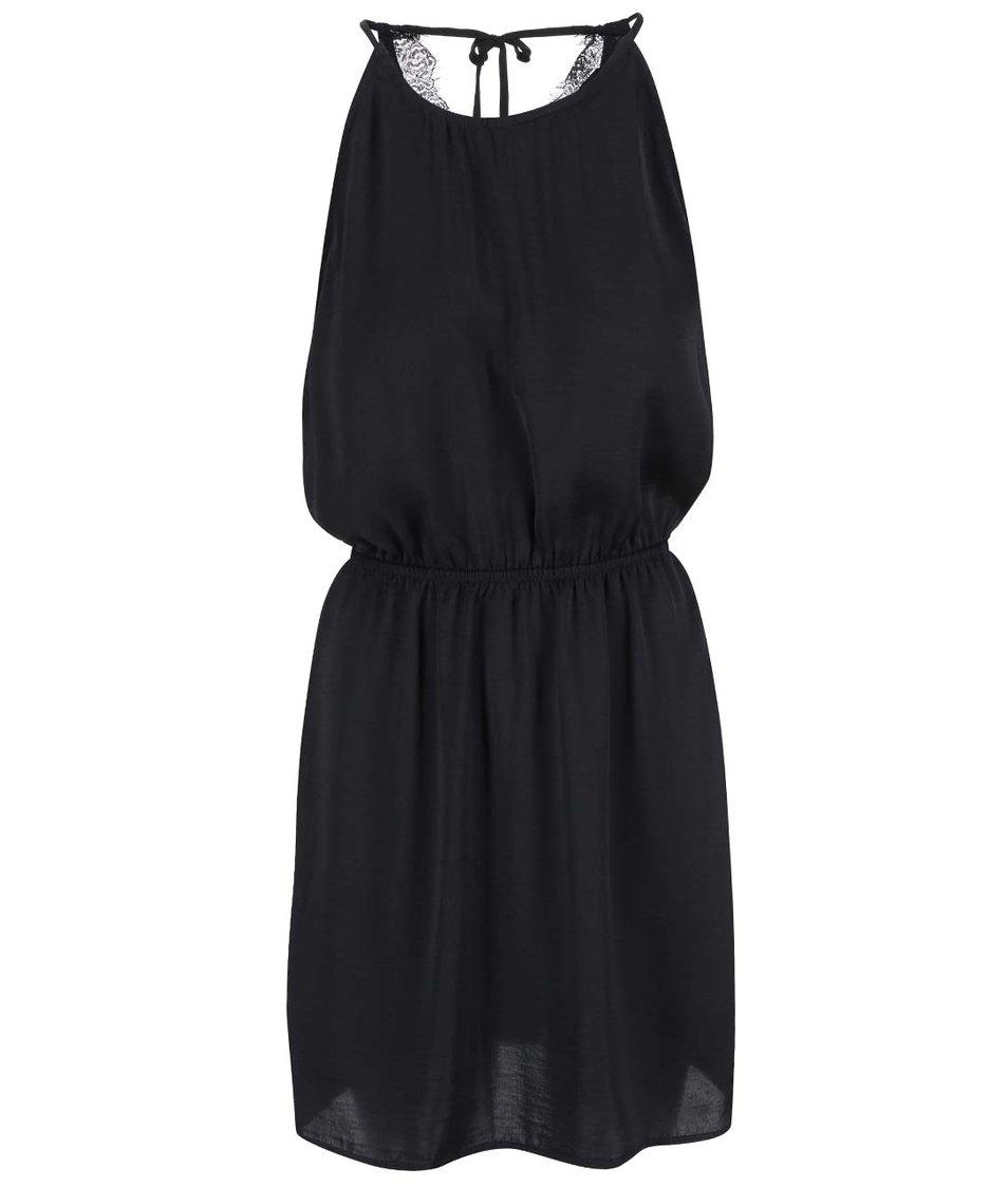 Černé šaty ONLY Vibse