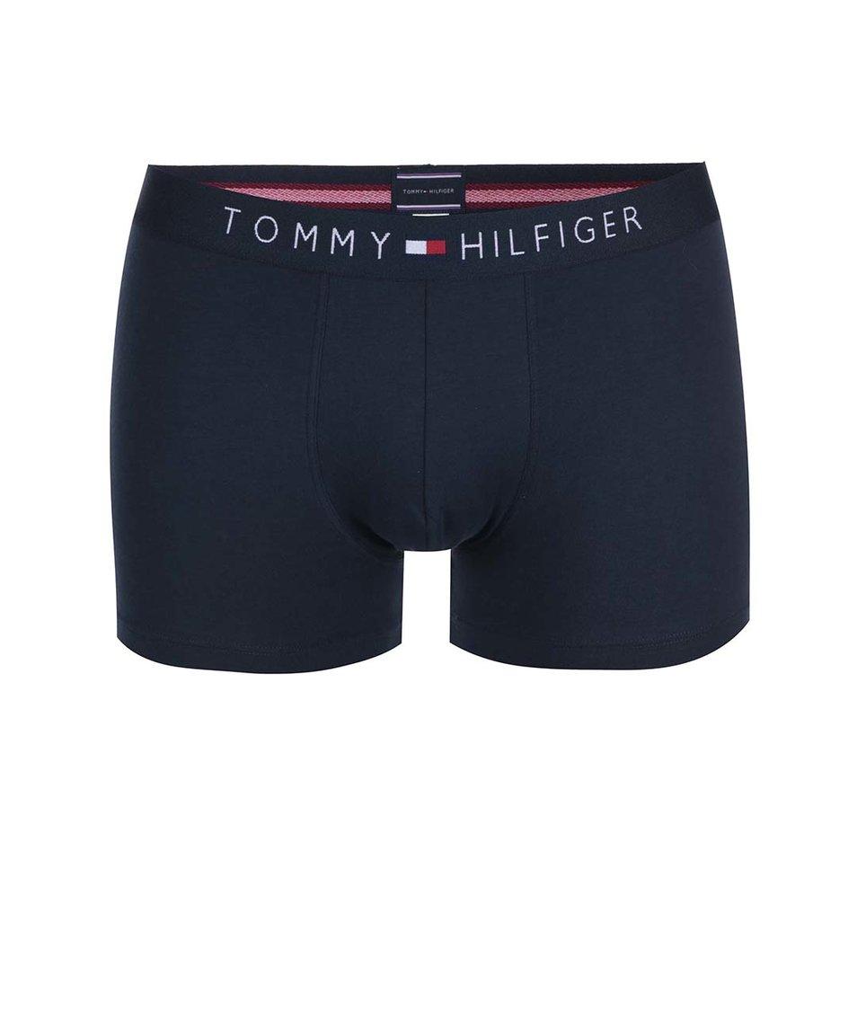 Modré bavlněné boxerky Tommy Hilfiger