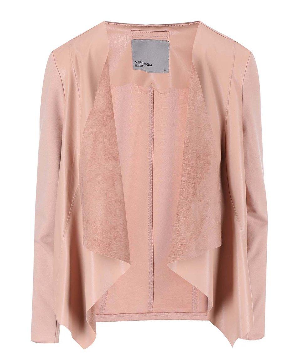 Růžový blejzr Vero Moda Dalian Butter