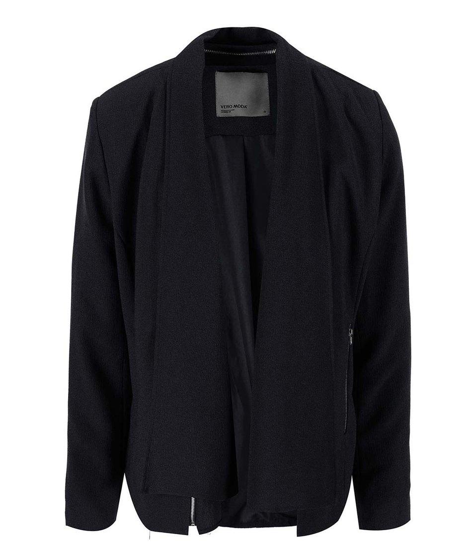 Černý blejzr s kapsami Vero Moda Marianne