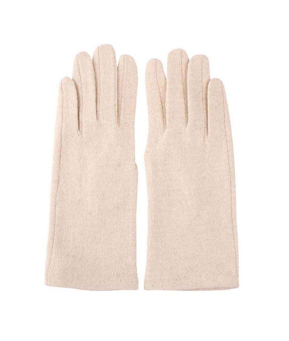 Béžové dámské rukavice INVUU London