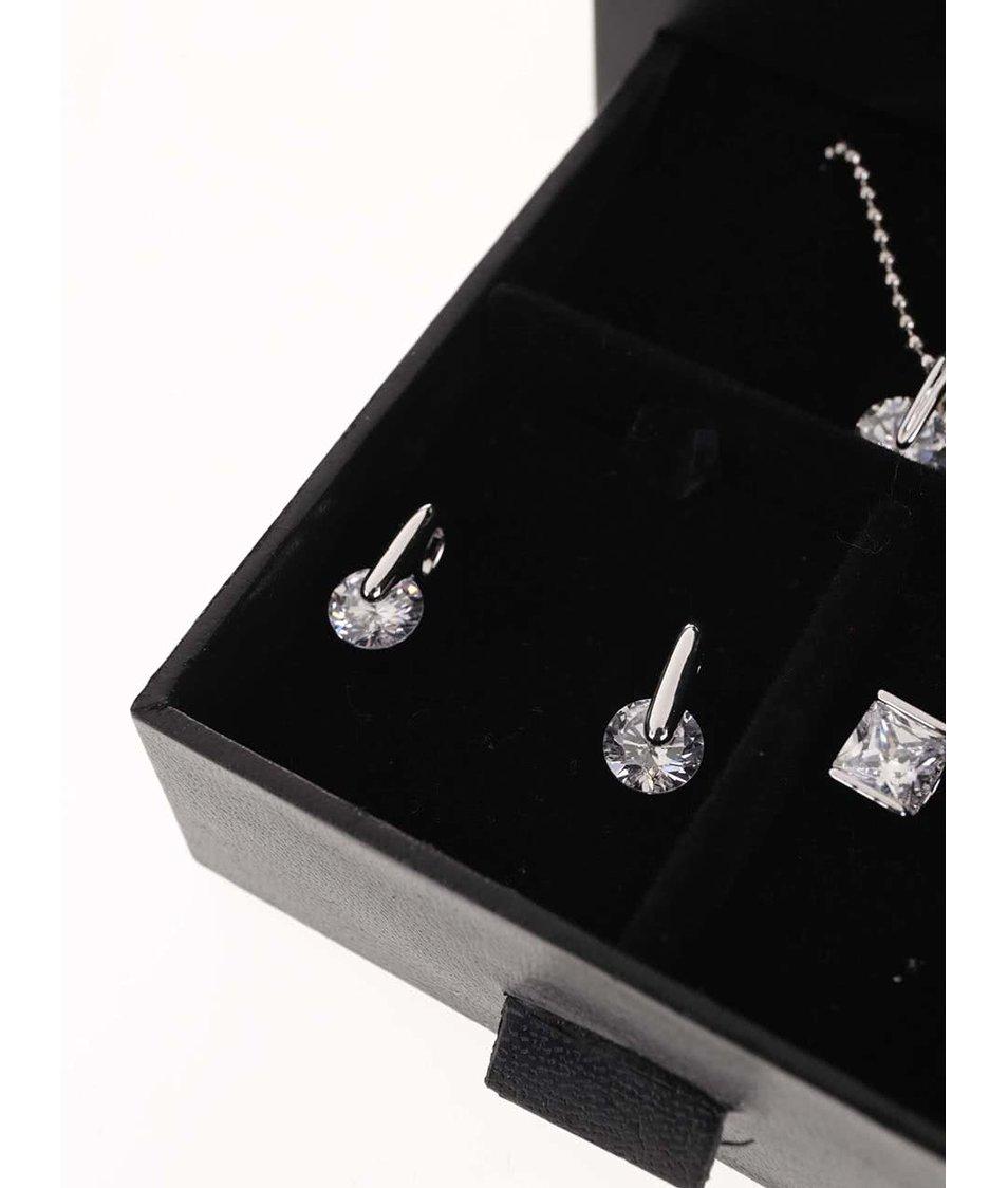 ... Bílé hodinky se sadou stříbrných šperků v černé kazetě Pierre Cardin ... 879b07cbf6