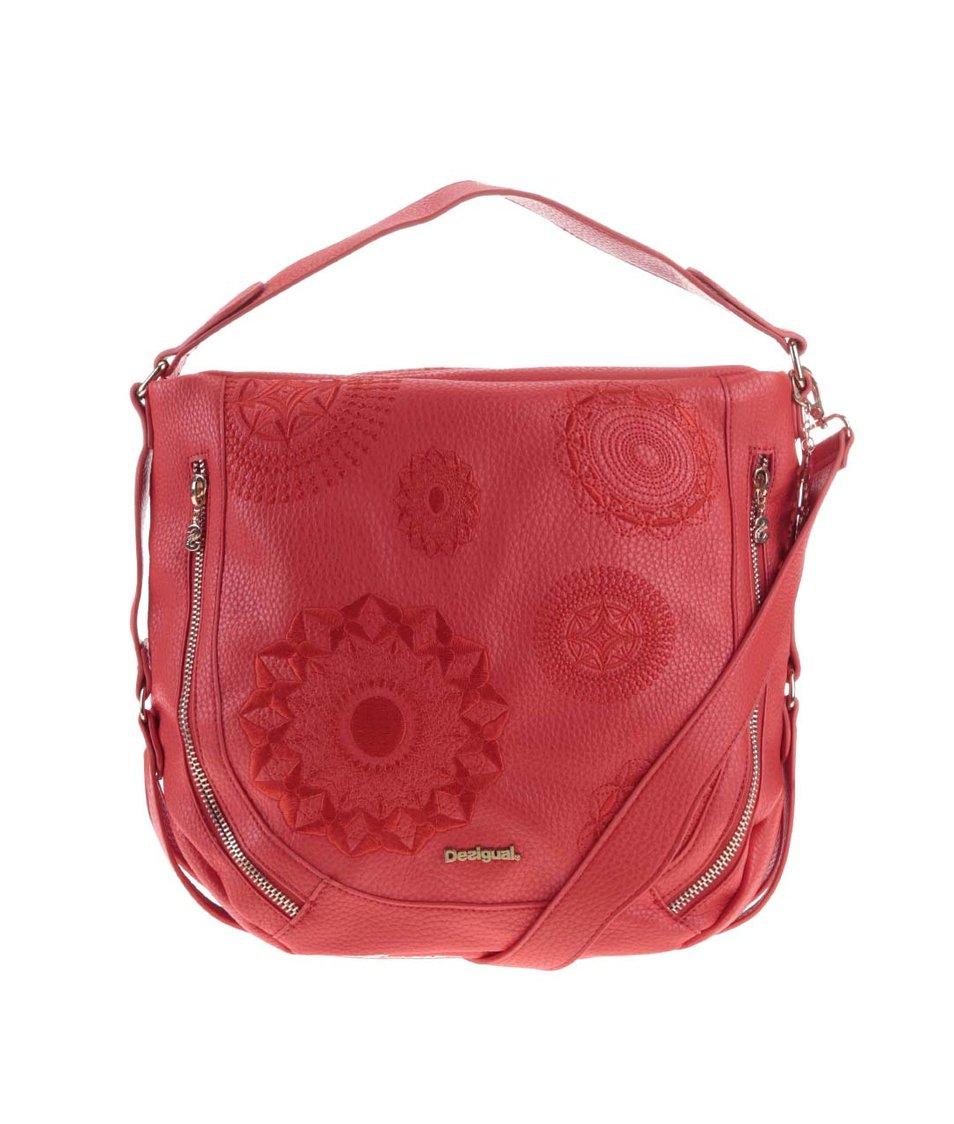 Červená kabelka Desigual Marteta