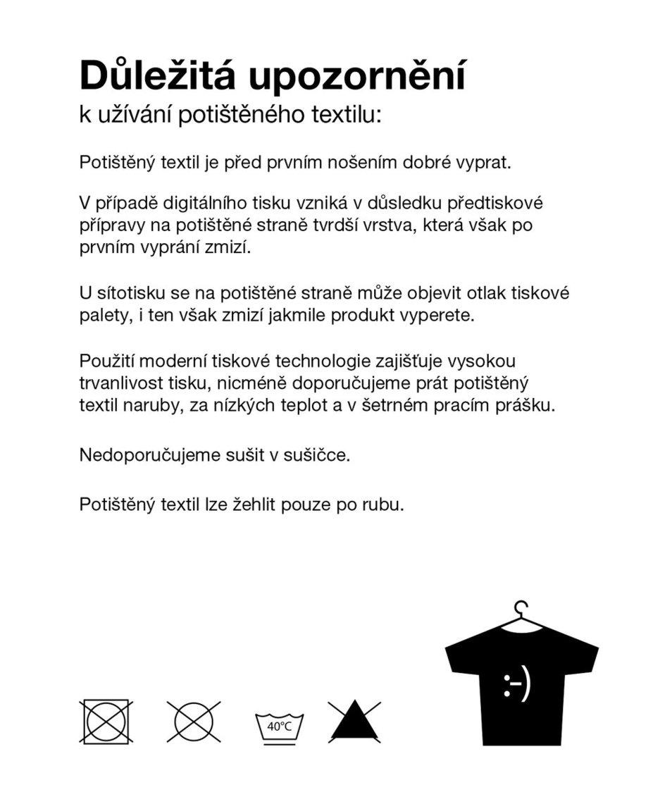 Bílé dětské triko ZOOT Kids Uhlí