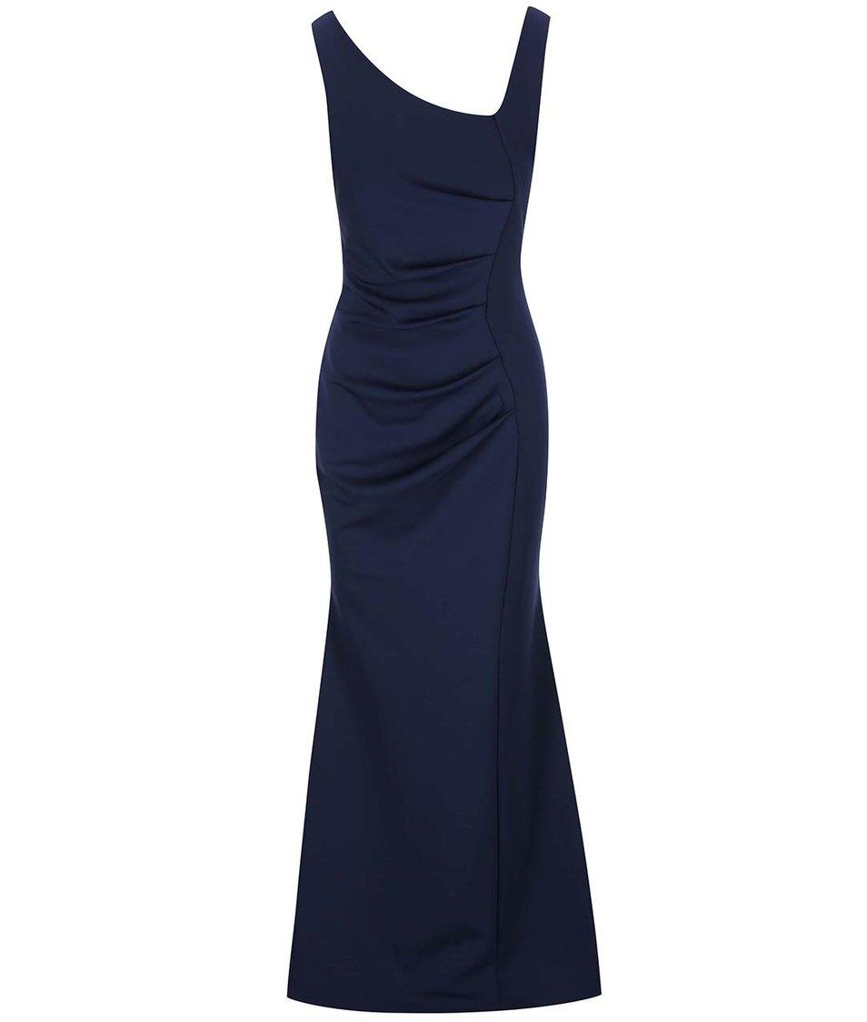 Tmavě modré dlouhé šaty Lipstick Boutique Veronica