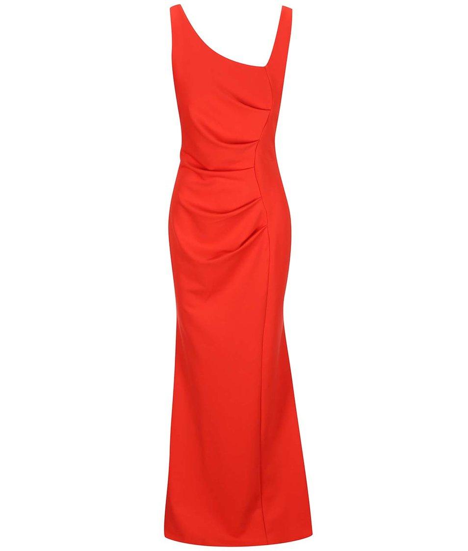 Červené dlouhé šaty Lipstick Boutique Veronica