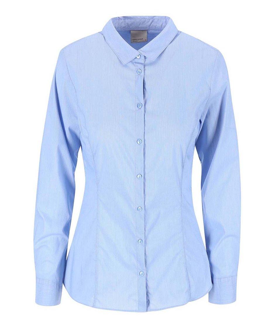 Světle modrá košile Vero Moda Lady