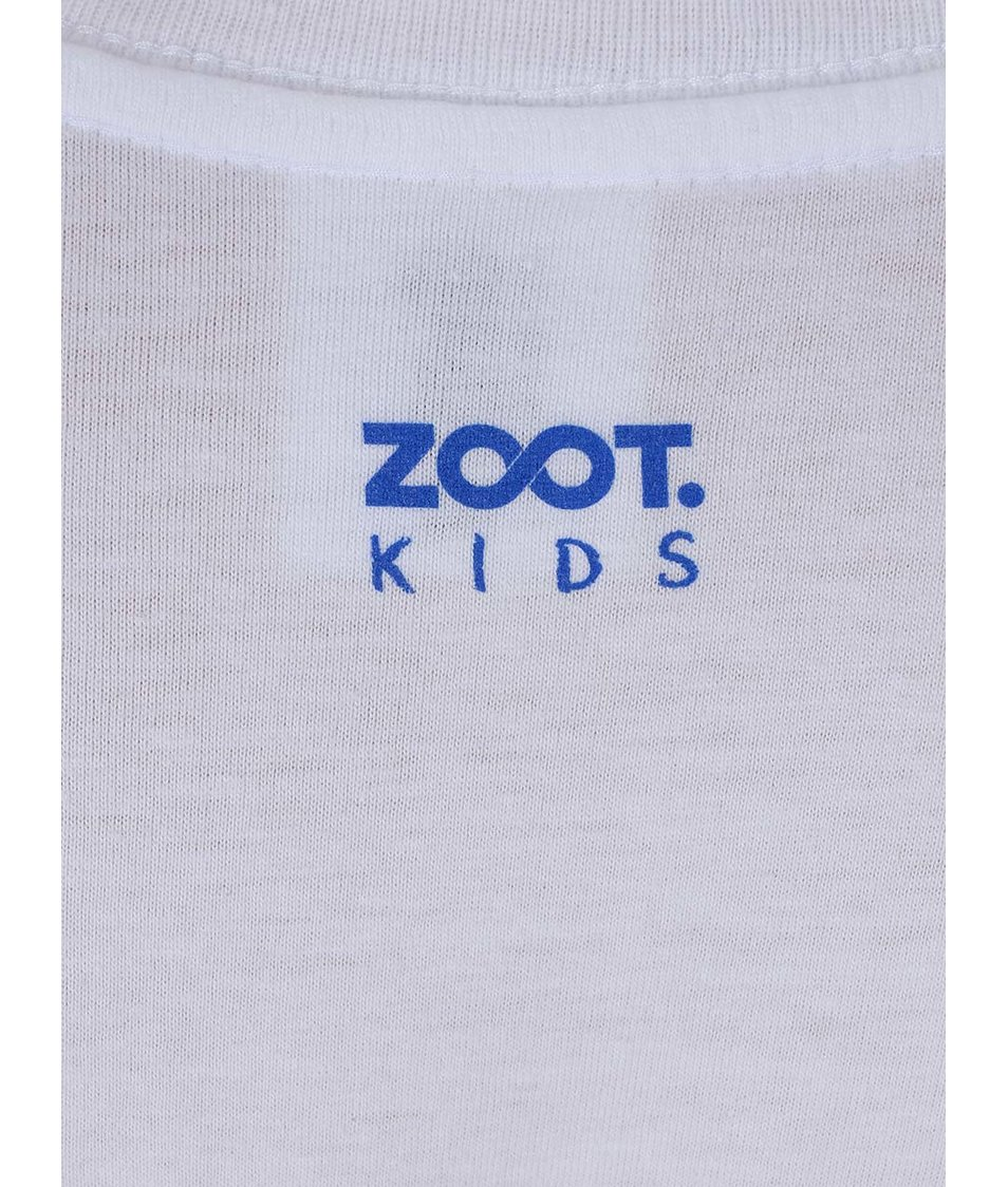 Bílé klučičí triko ZOOT Kids Kravata