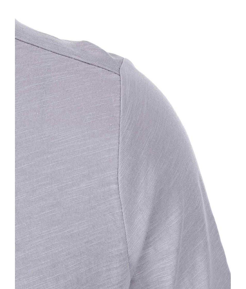 Šedé tričko s 3/4 rukávem s.Oliver