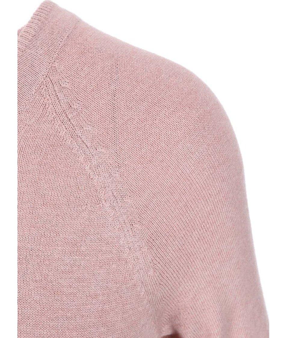 Růžový dámský svetr s.Oliver