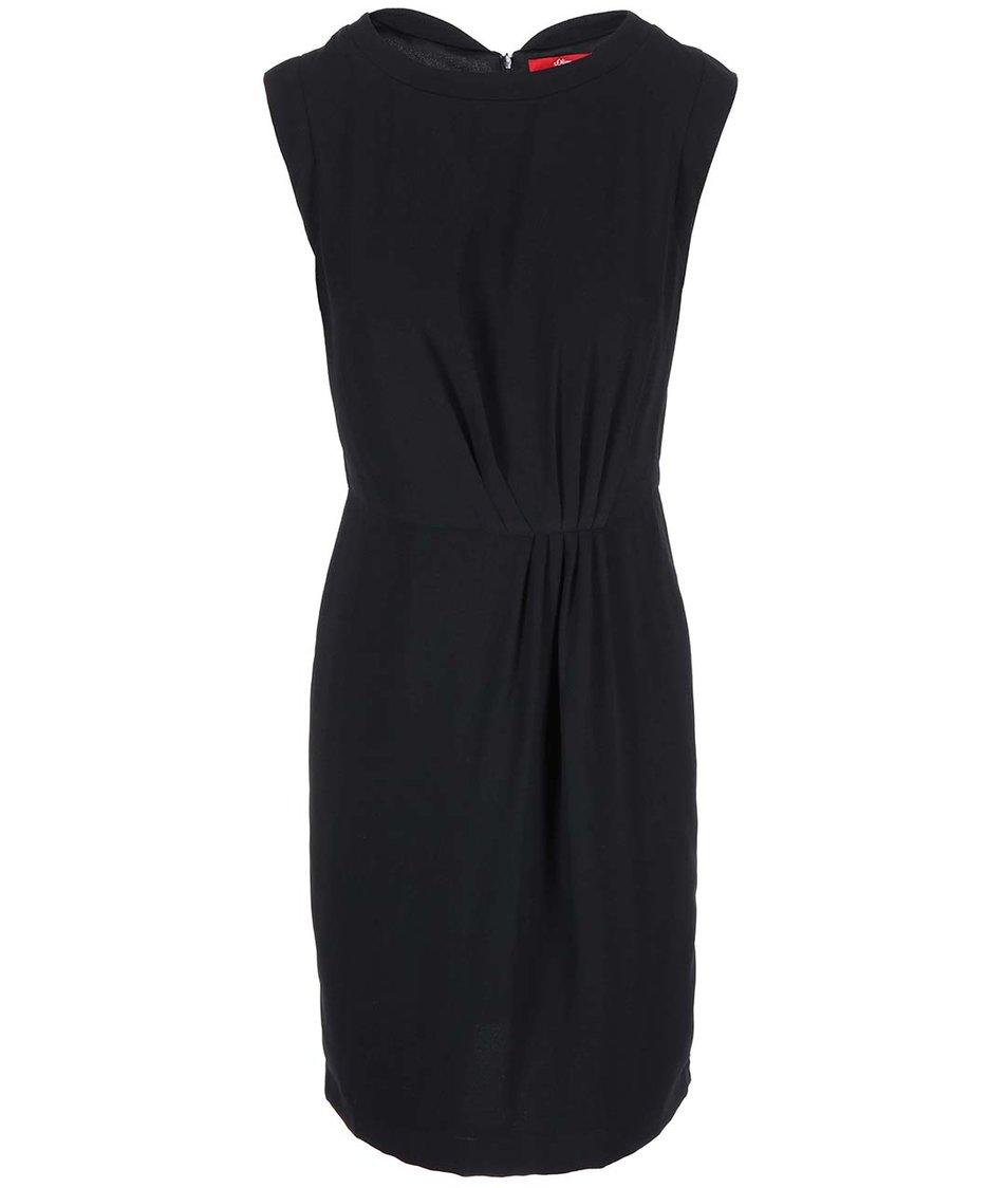 Černé šaty s.Oliver