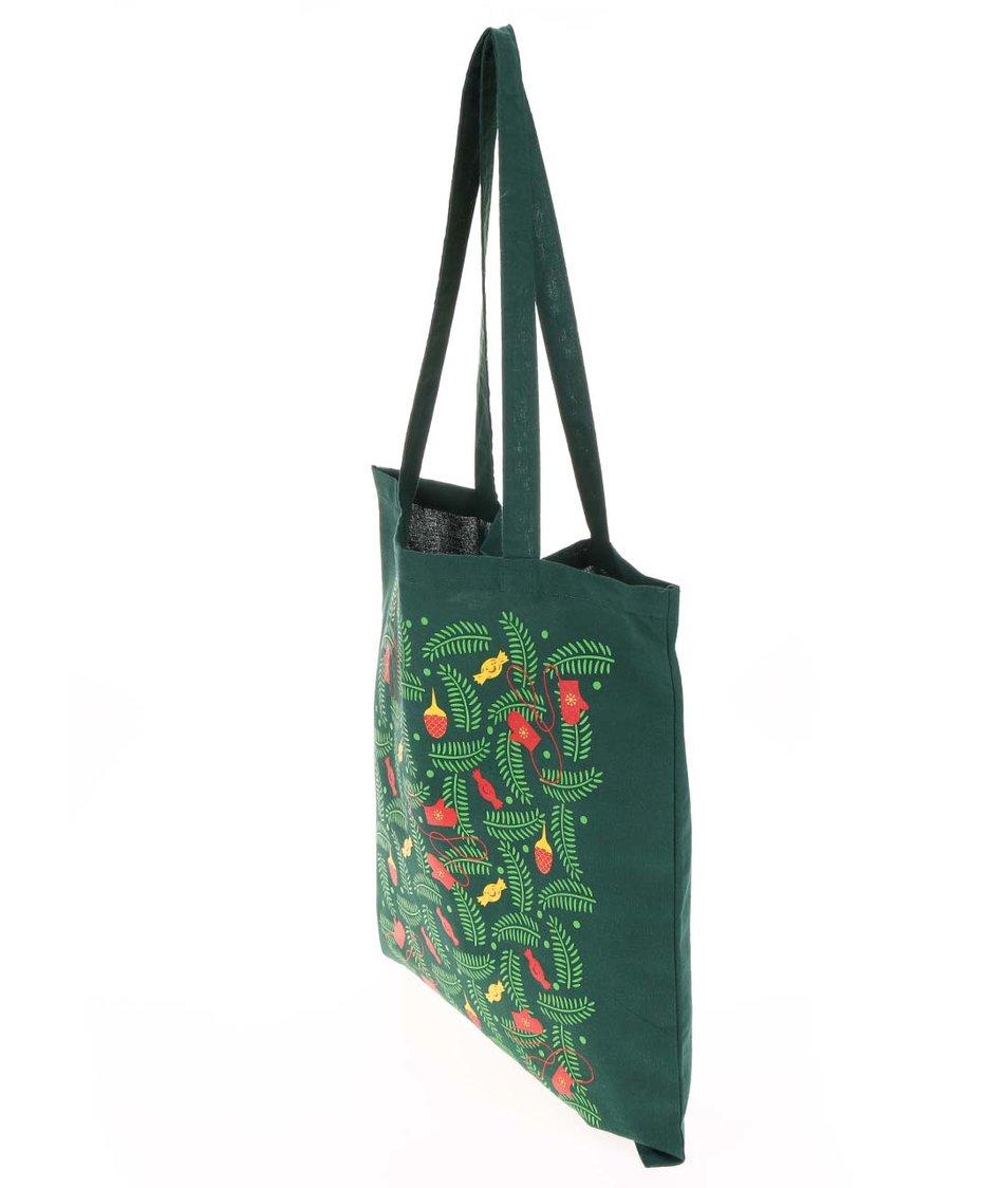 Zelená taška ZOOT Originál Pattern bonbon