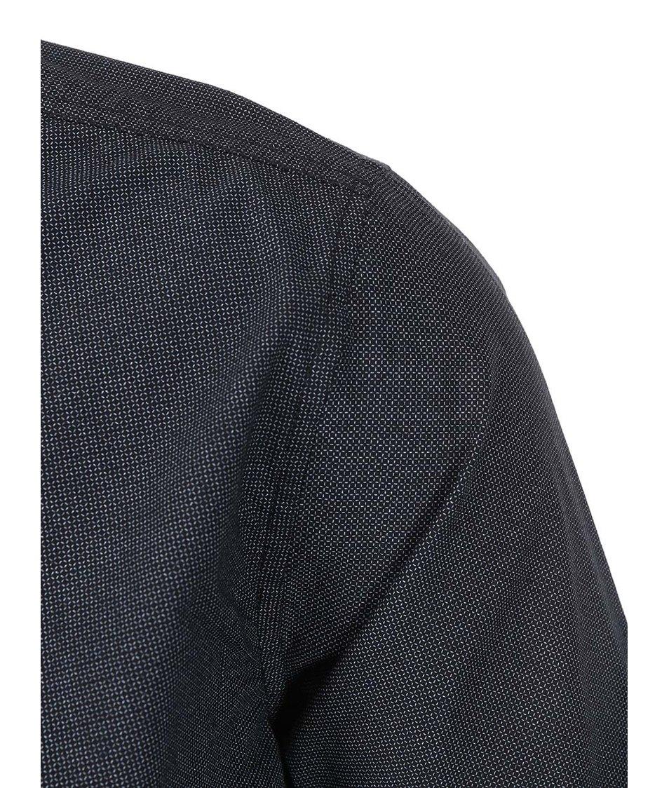 Černá košile s drobným vzorem Blend