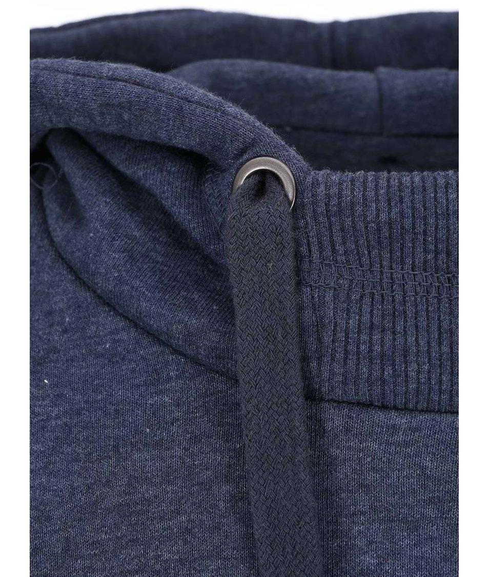 Modrá mikina se šikmým límcem Blend