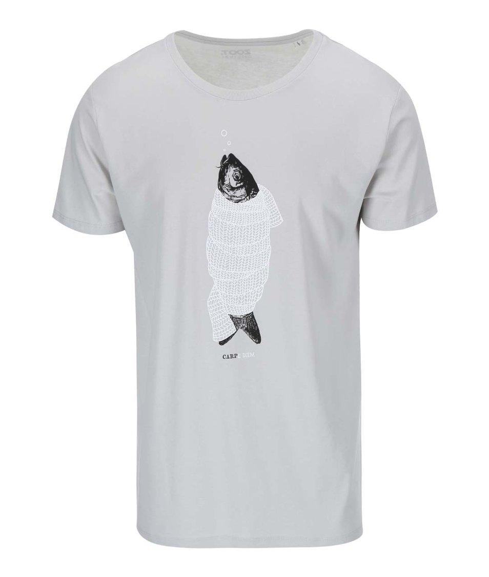 Šedé pánské triko ZOOT Originál Kapr