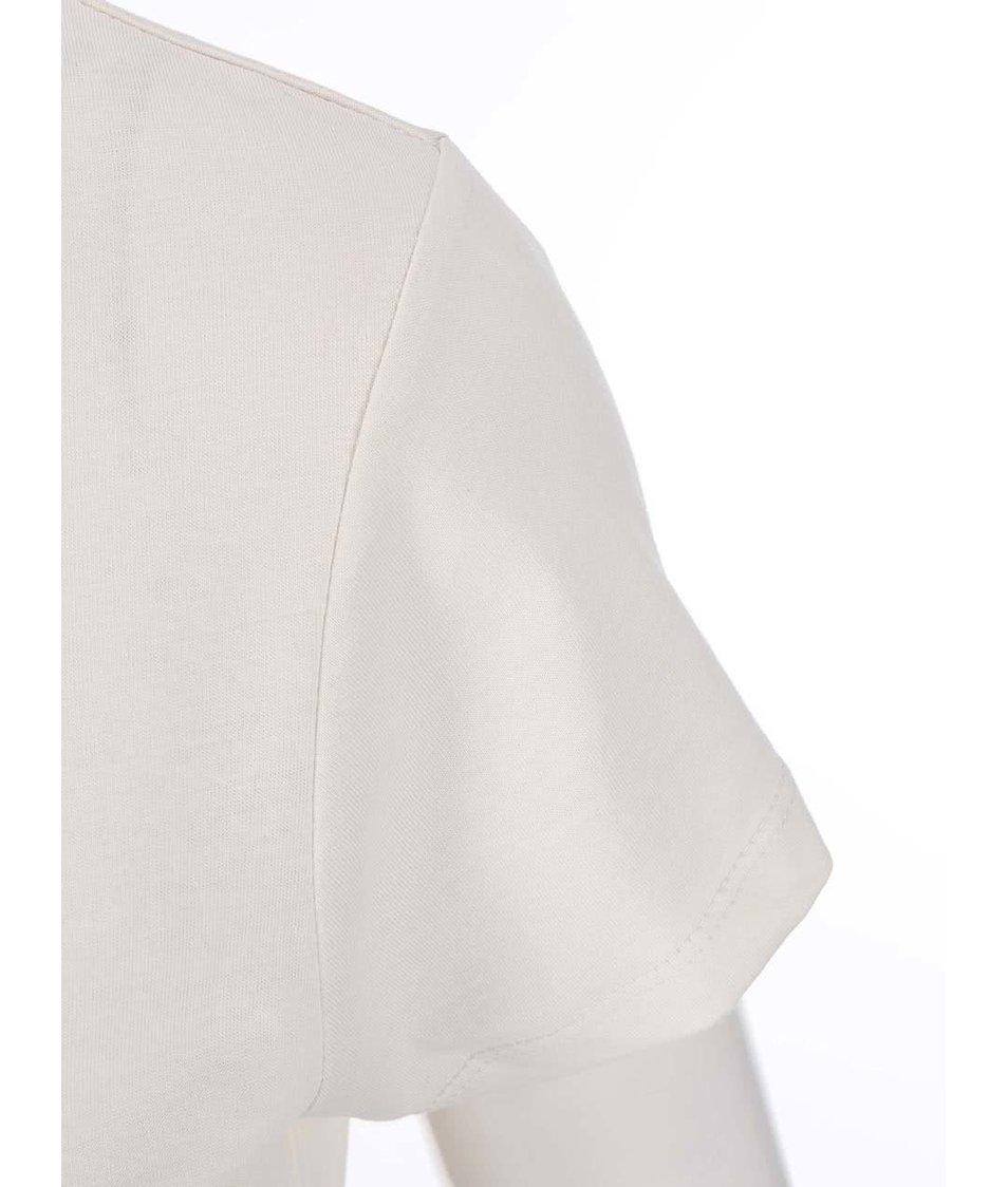 Krémové dámské tričko ZOOT Originál Les
