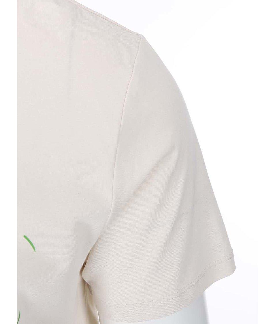 Krémové pánské triko ZOOT Originál Les