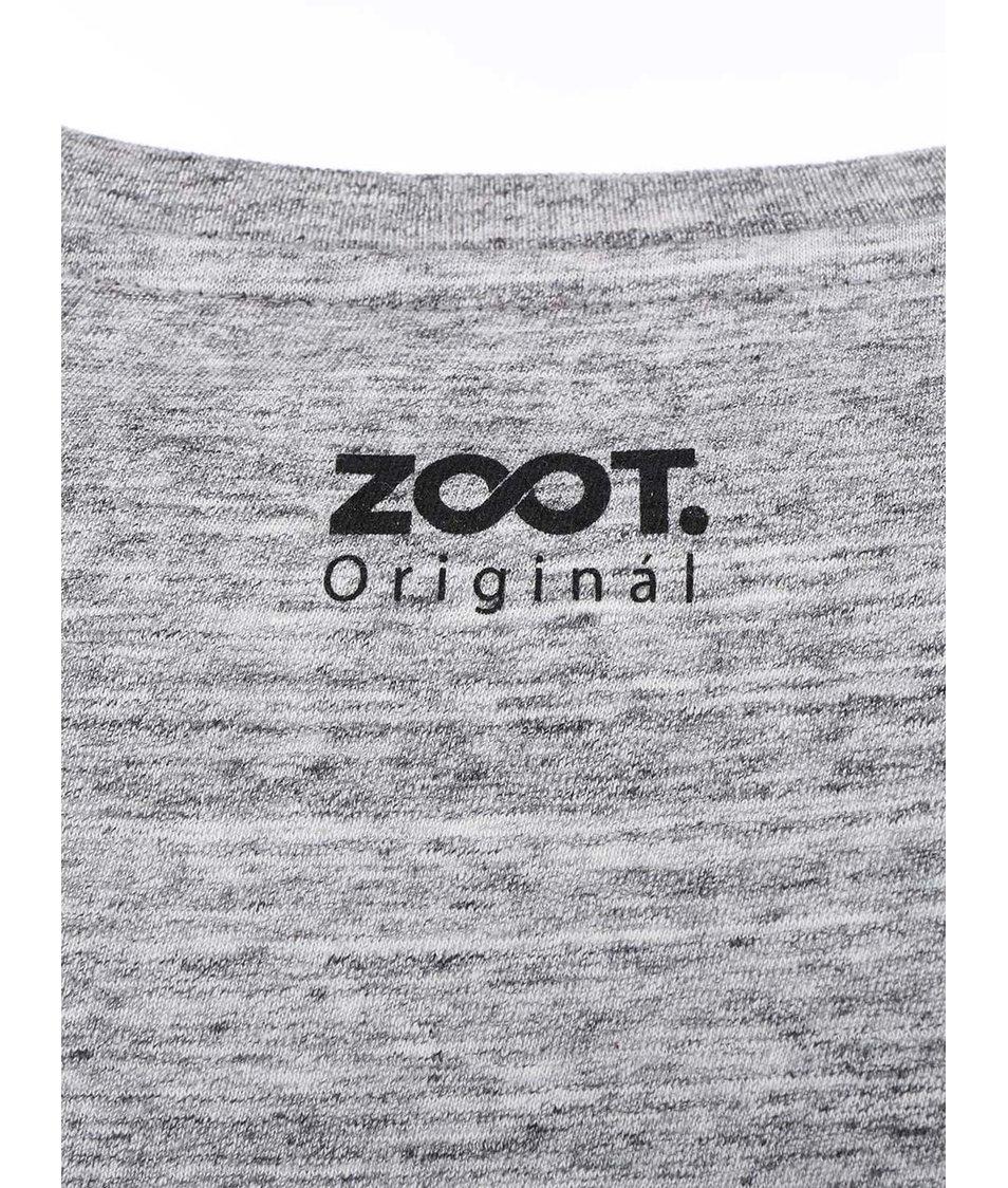 Šedé pánské triko ZOOT Originál Existuje