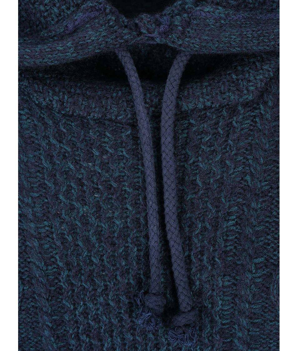 Tmavě modrý svetr s kapucí ONLY & SONS Benny