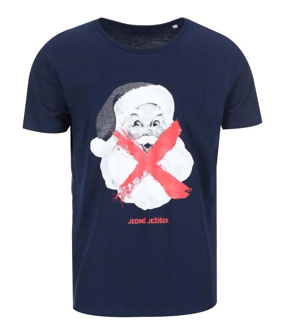 Modré pánské triko ZOOT Originál Santa
