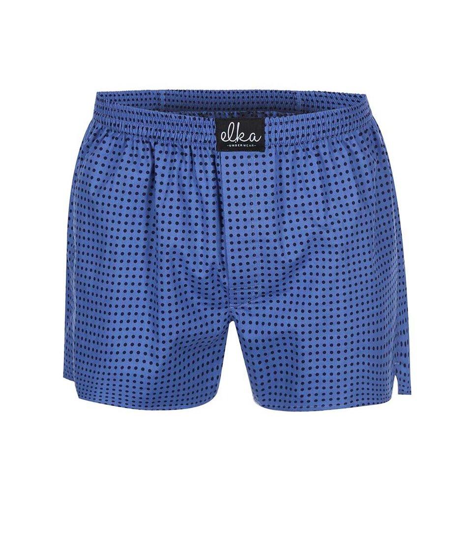 Modré puntíkované trenýrky El.Ka Underwear
