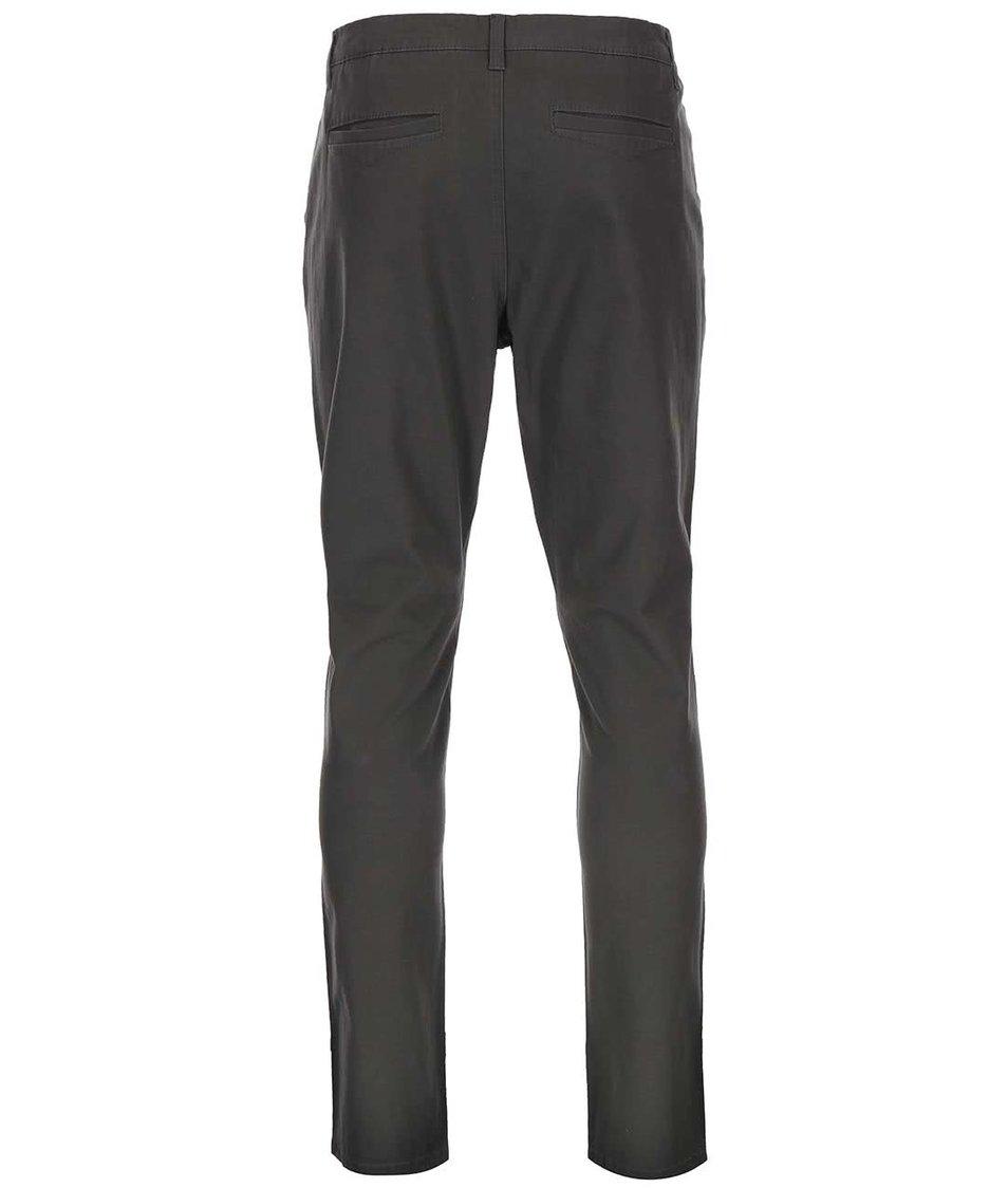 Šedozelené chino kalhoty ONLY & SONS Cale