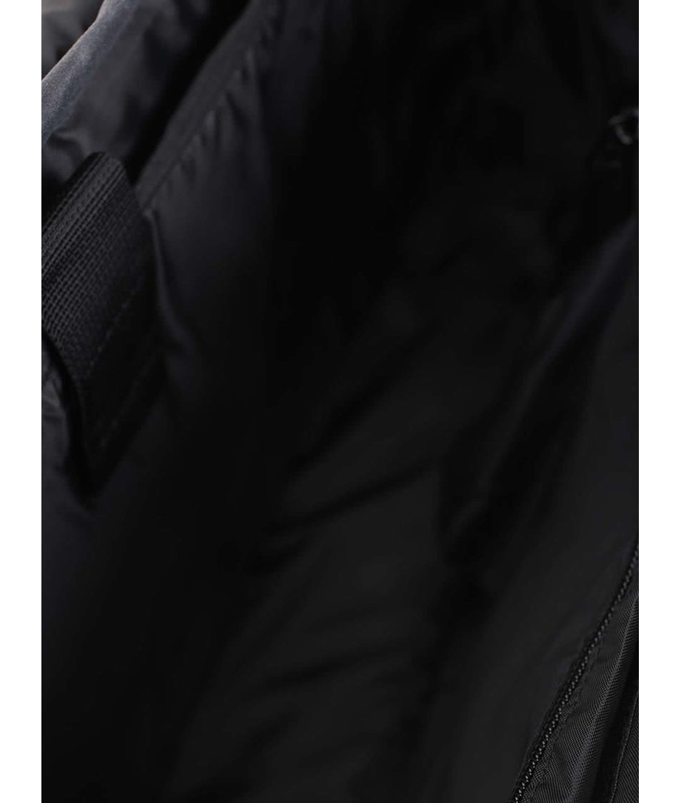 Černošedá taška přes rameno s vintage efektem Quiksilver Carriers