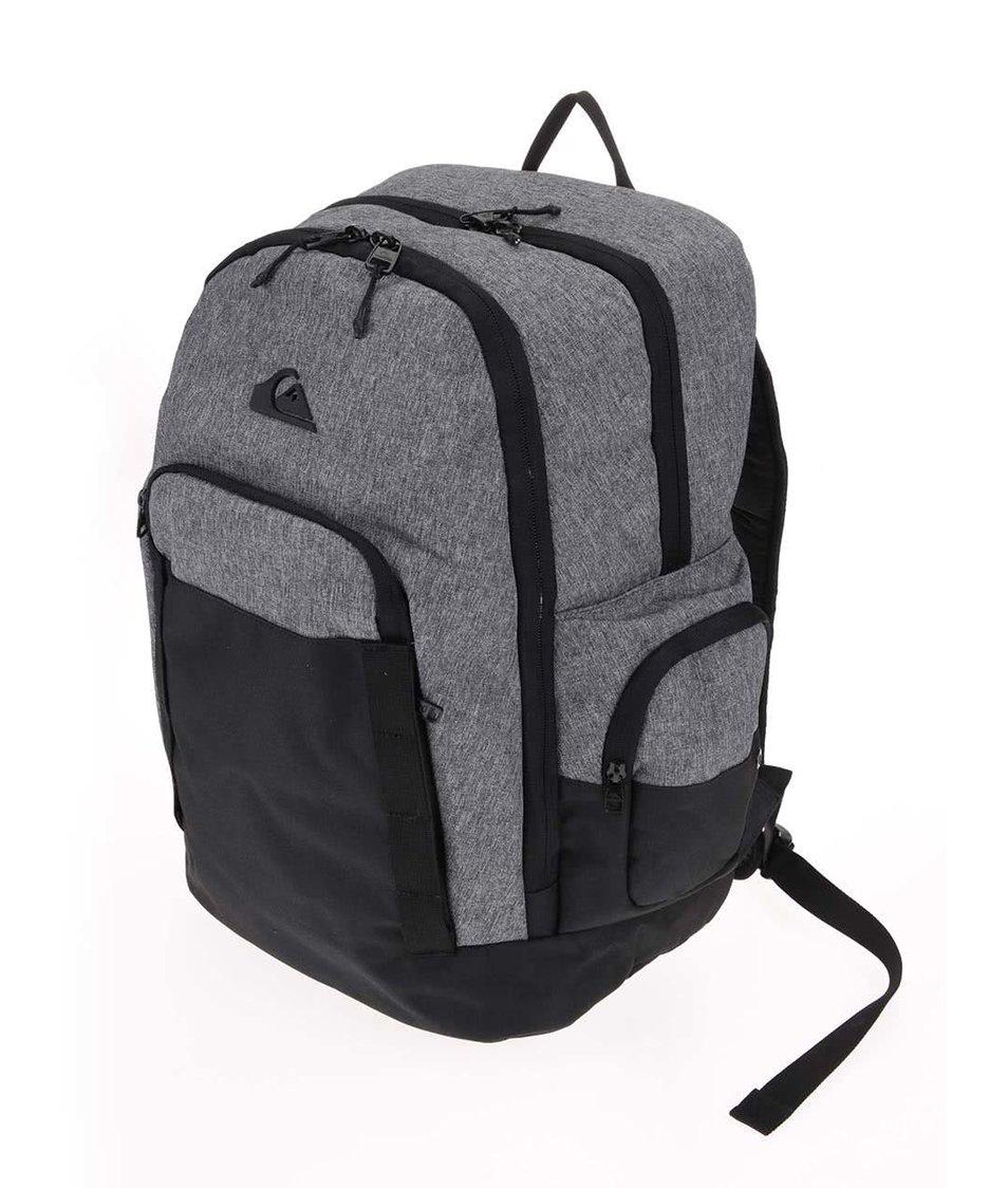 Černo-šedý batoh Quiksilver 1969 Special