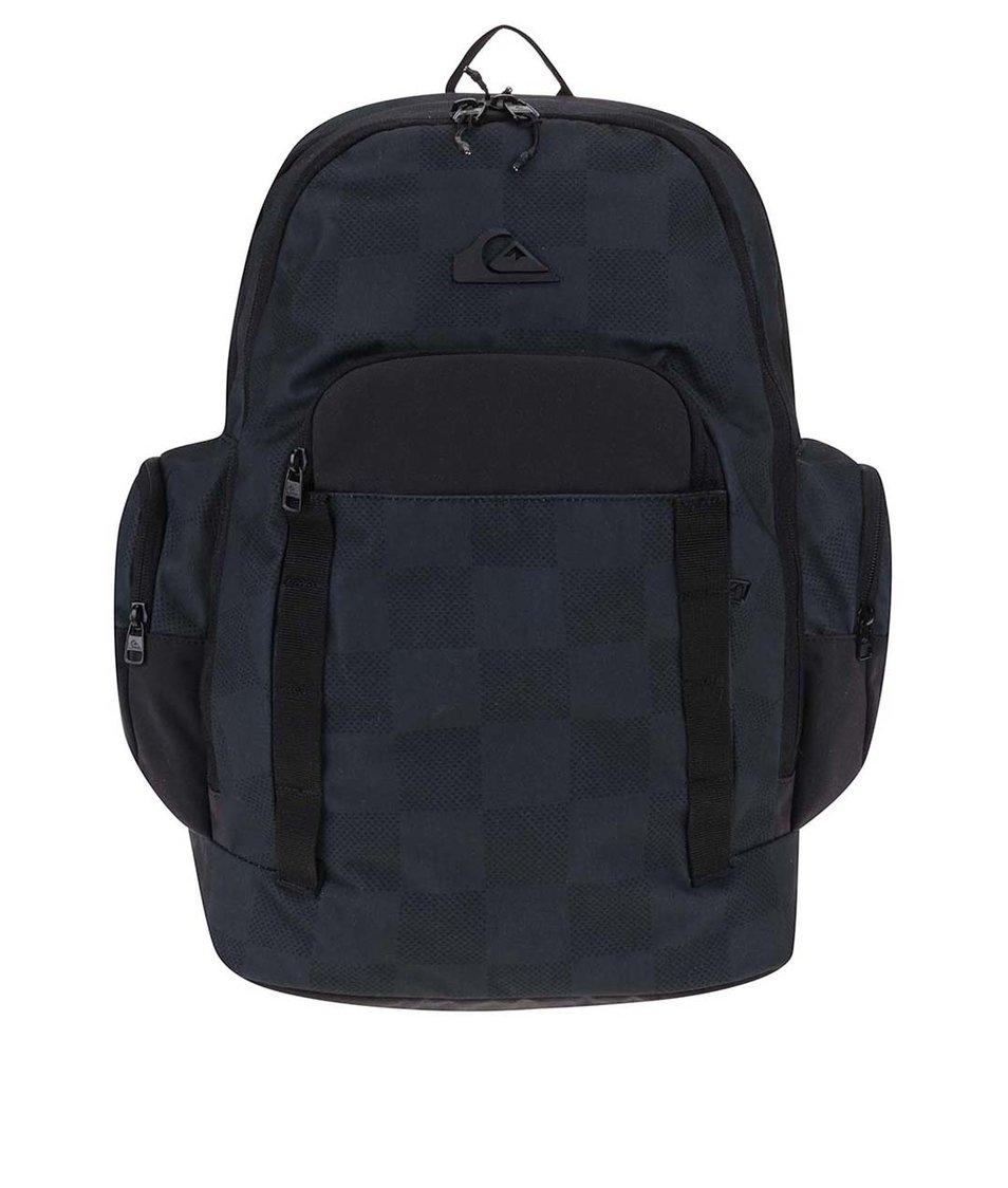 Černo-modrý batoh se vzorem Quiksilver 1969 Special