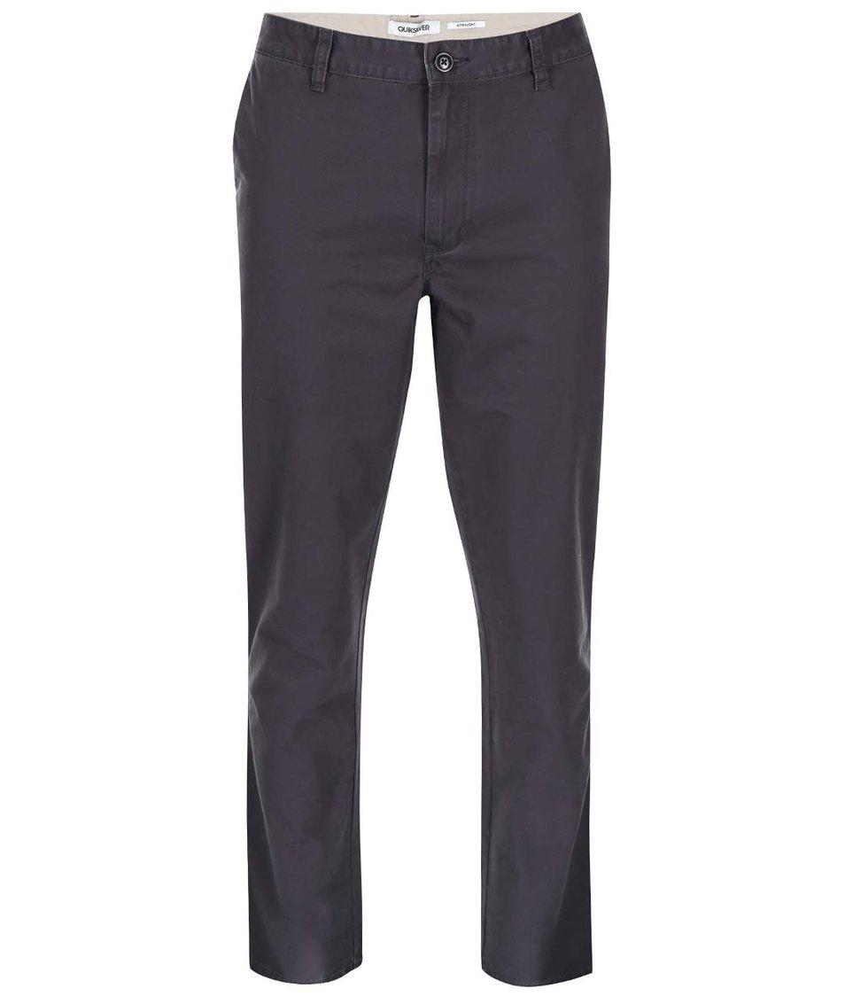 Modrošedé chino kalhoty Quiksilver Everyday