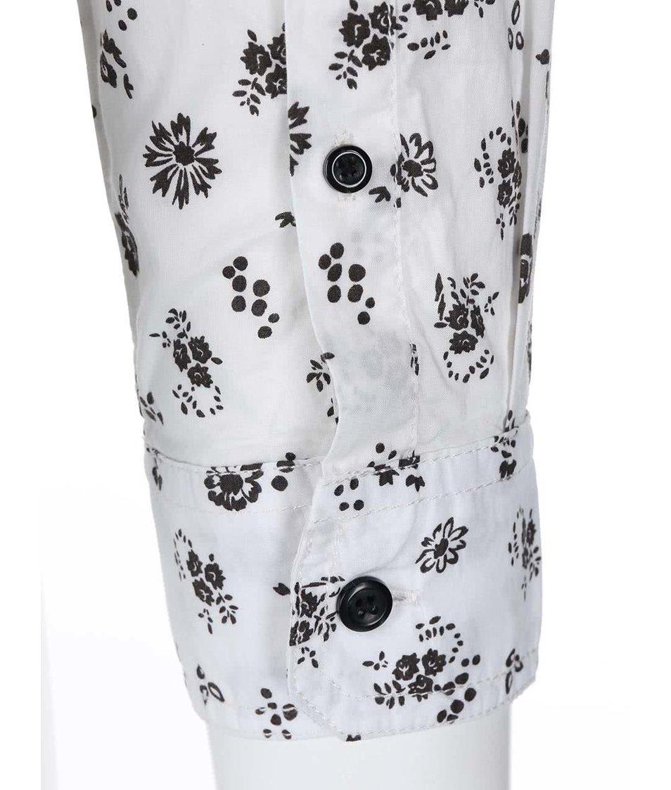 Bílá košile se vzorem květin ONLY & SONS Freddy