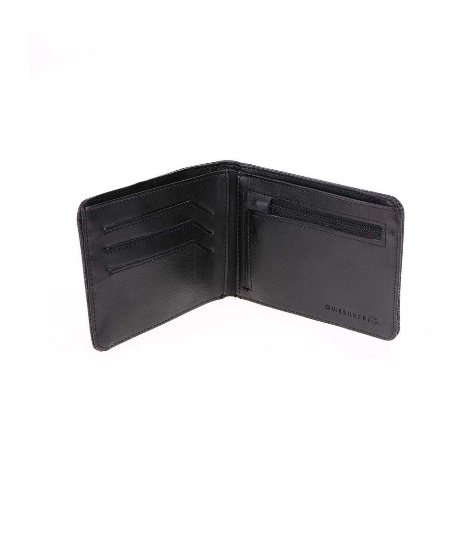 Tmavě šedá peněženka Quiksilver On The Move