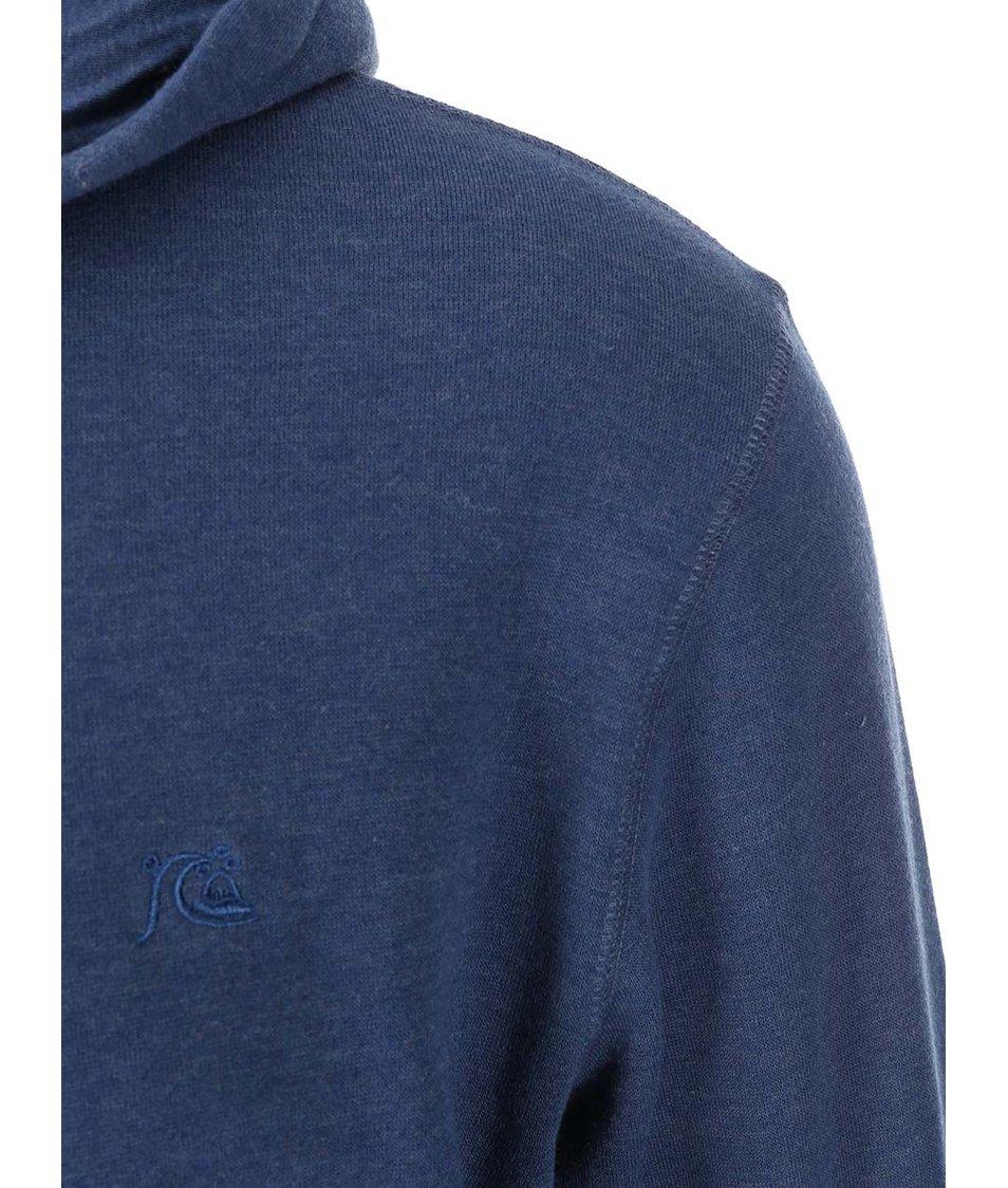 Modrá mikina na zip Quiksilver Major