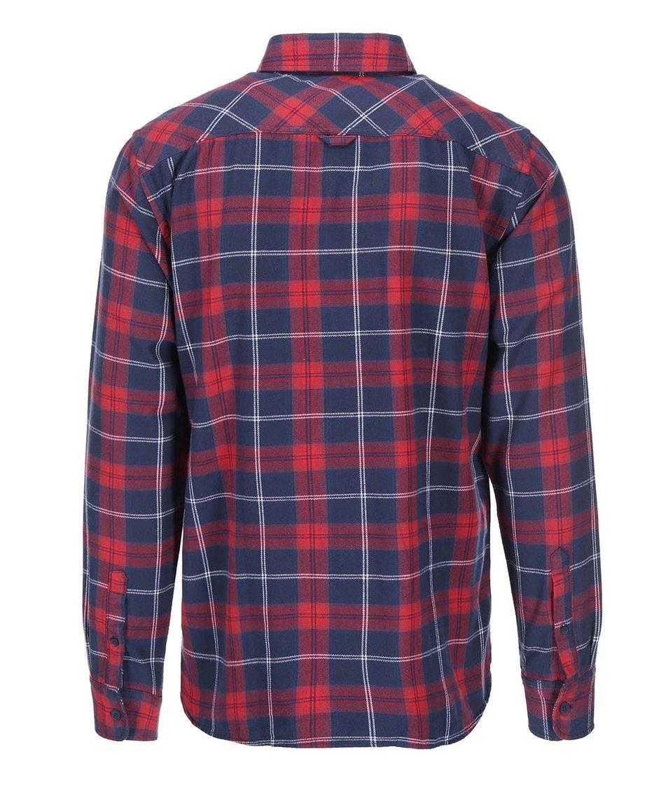 Červeno-modrá kostkovaná košile ONLY & SONS Fernando