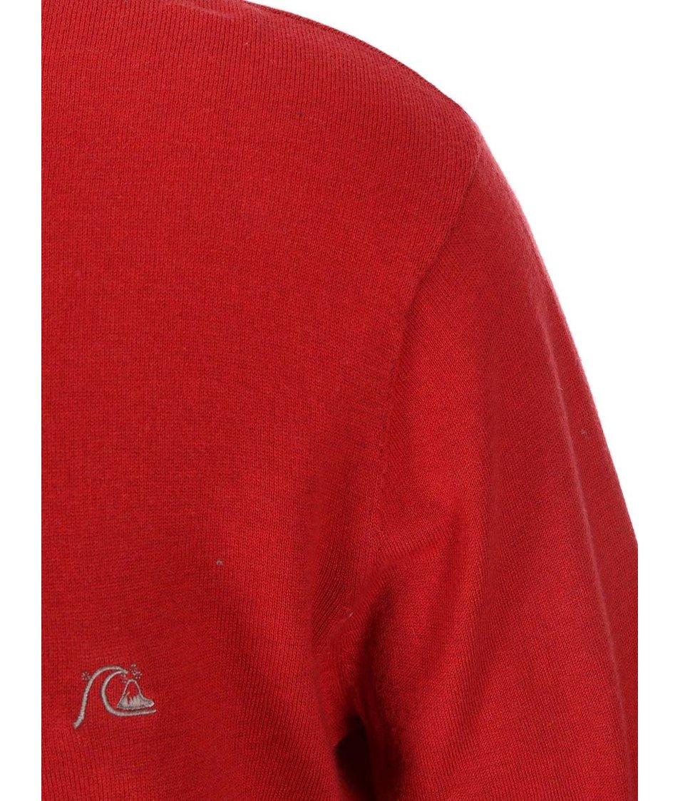 Červený svetr Quiksilver Kelvin