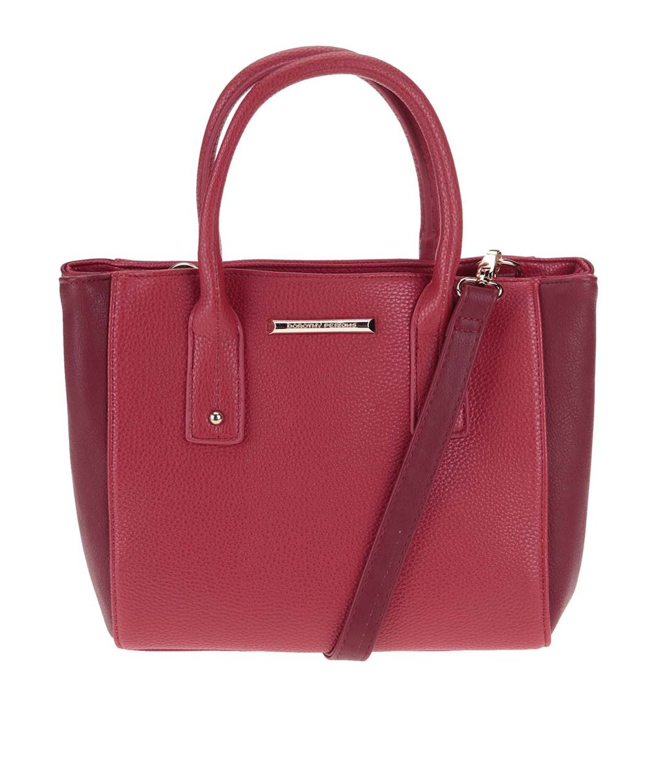 Vínovo-červená malá kabelka Dorothy Perkins