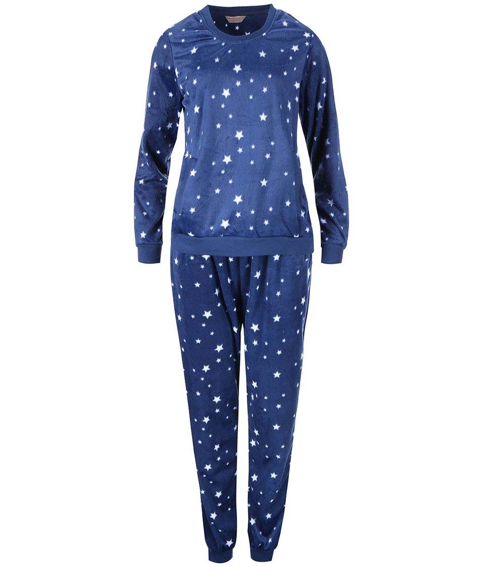 Tmavě modré pyžamo s hvězdami Dorothy Perkins