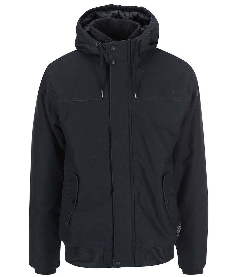 Černá bunda s kapucí Quiksilver Brooks