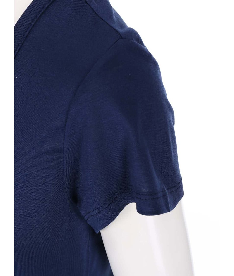 Tmavě modré tričko s potiskem Dorothy Perkins
