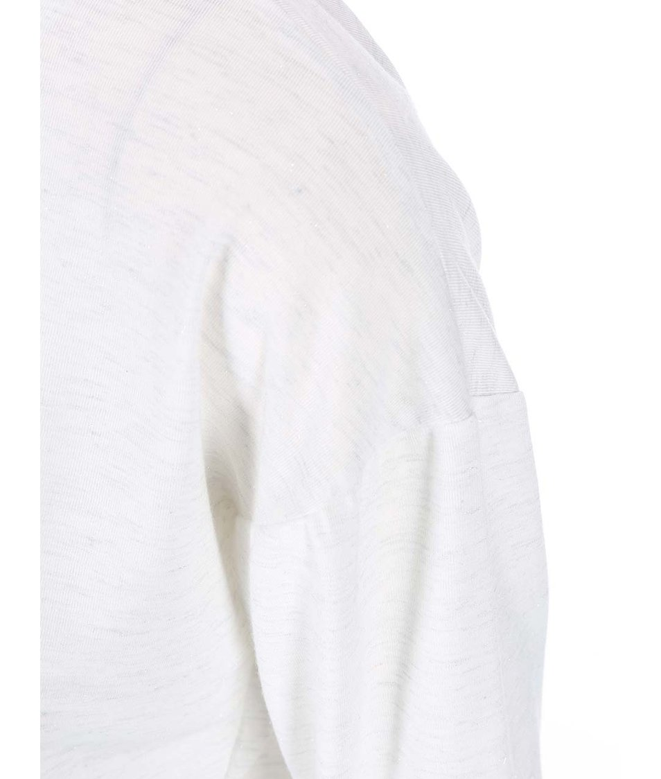 Krémové třpytivé tričko s tučňáky Dorothy Perkins
