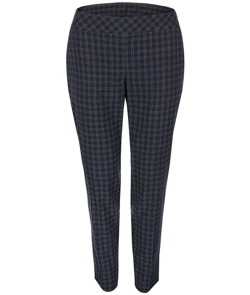 Černo-modré kostkované kalhoty Dorothy Perkins