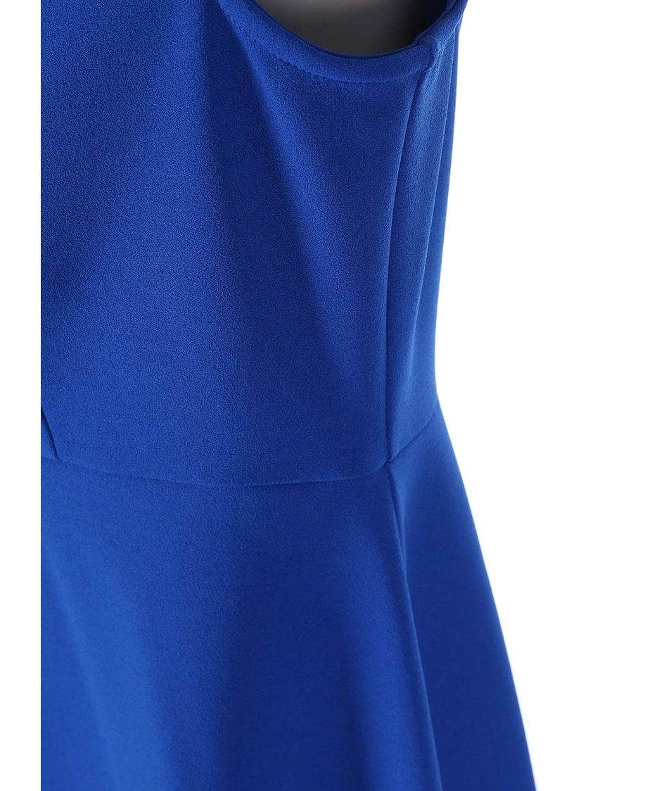 Modré šaty se zdobením kolem krku Dorothy Perkins