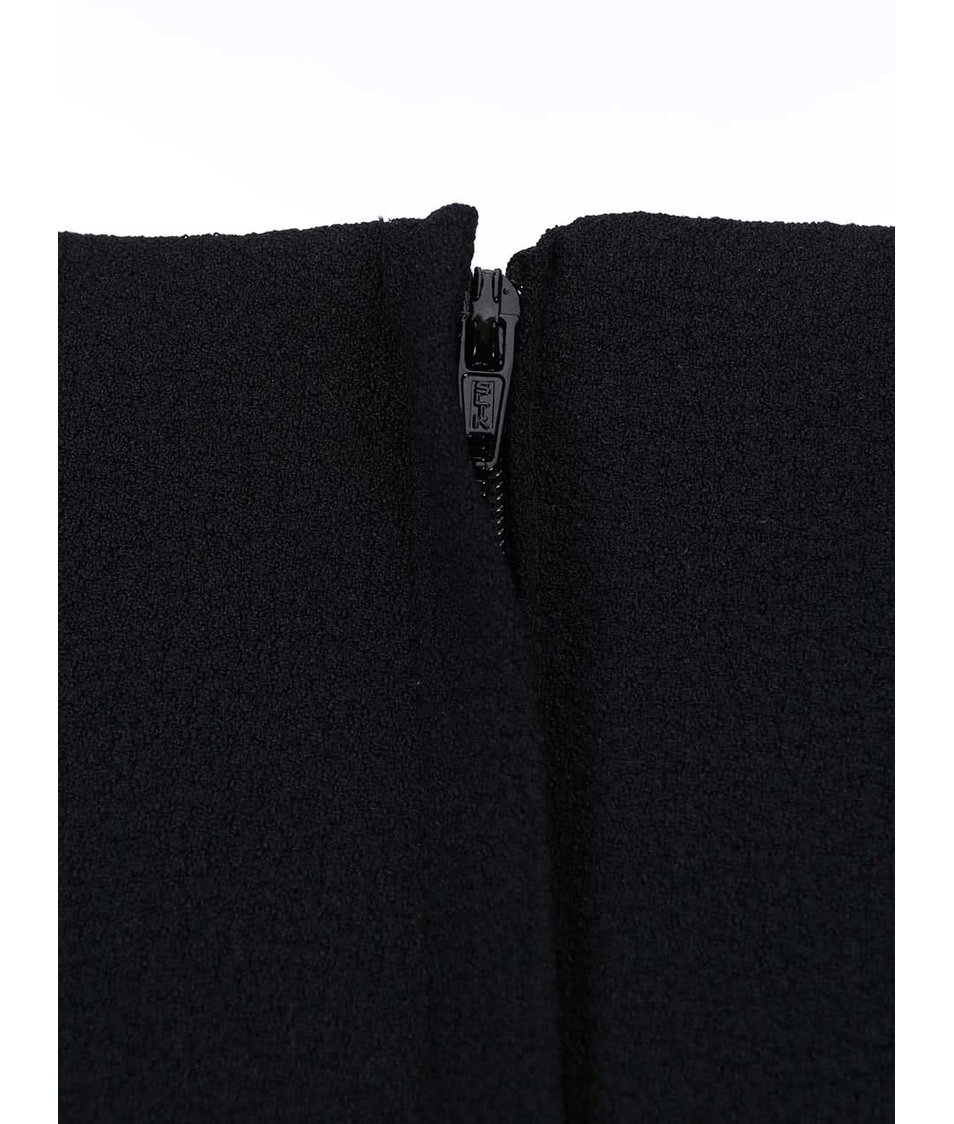 Černé šaty s úzkým páskem Dorothy Perkins