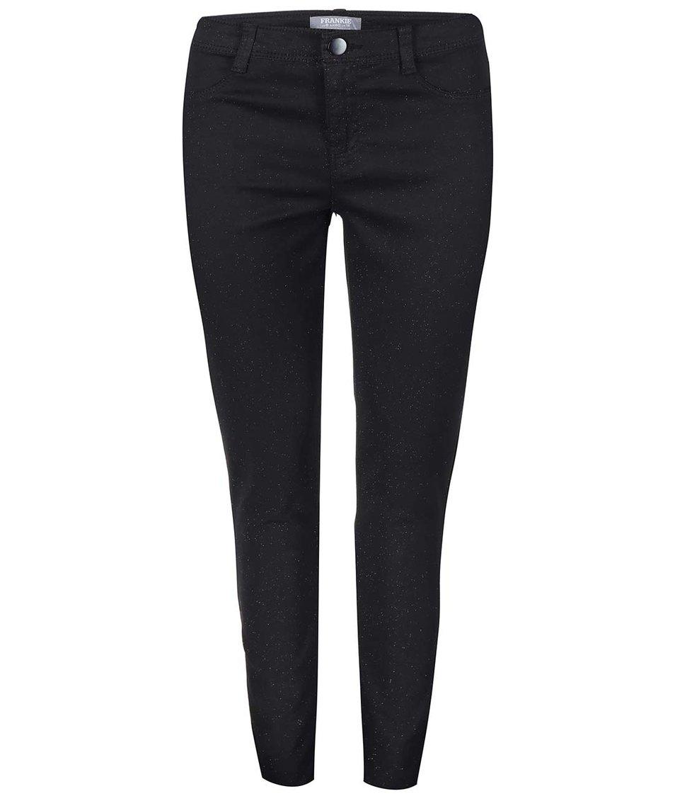 Černé skinny džíny se třpytkami Dorothy Perkins