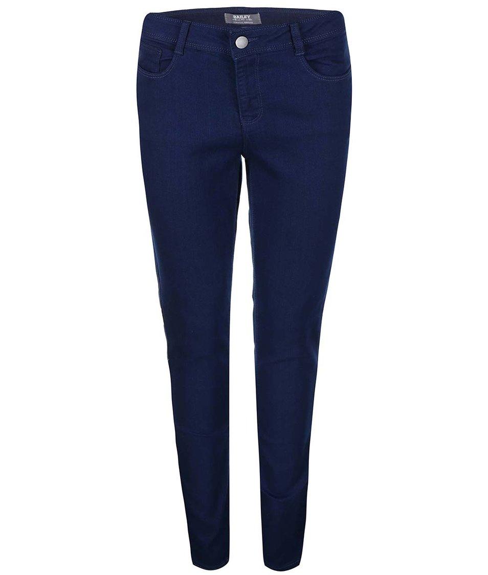 Modré strečové skinny džíny Dorothy Perkins