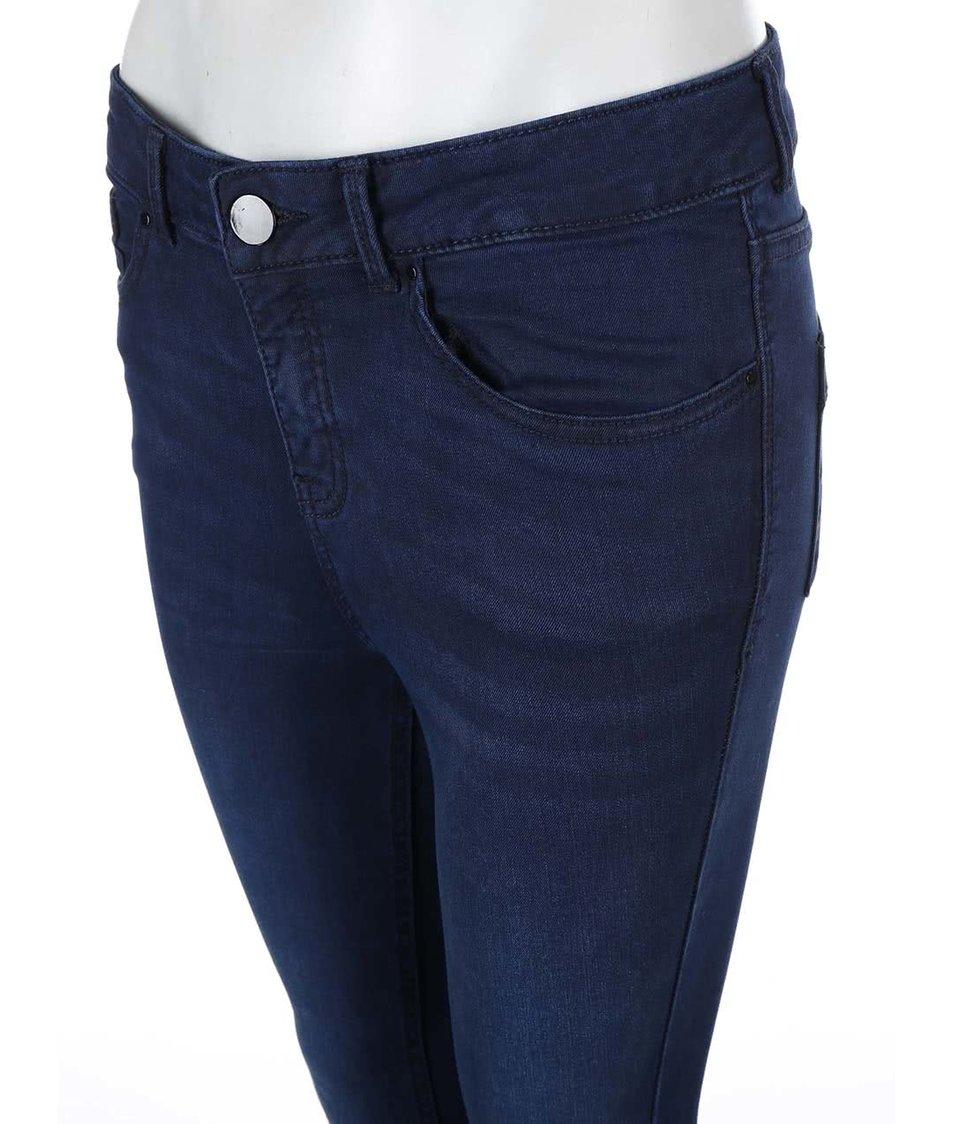 Tmavě modré strečové skinny džíny Dorothy Perkins